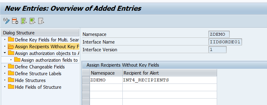 SAP AIF Customization - Interface Specific Features