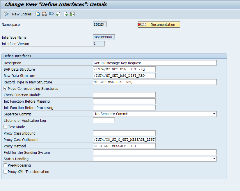 Outbound SAP AIF Interface determination