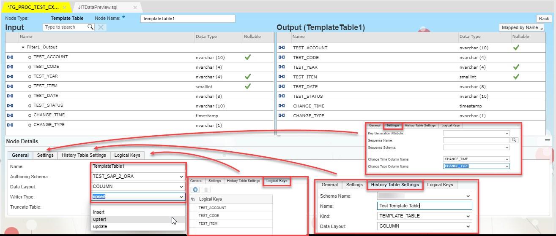 Smart Data Integration (SDI) flowgraph data processing - SAP