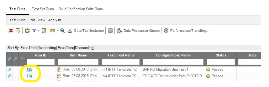 Test Runs Int4 IFTT