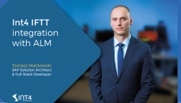 Int4 IFTT Integration with ALM