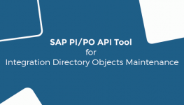 SAP PI PO API Tool for Integration Directory Objects Maintenance