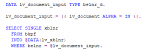 Code Snippet Int4