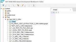 xsjapp file creation
