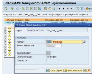 Determine package in ABAP